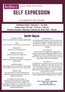Closing Reception - Community Exhibition: Self Expression